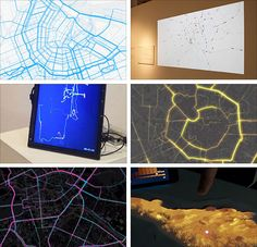 Unfolding is a library to create interactive maps and geovisualizations in Processing and Java Interactive Map, Chart, Java, City, Create, Cities