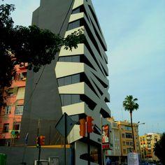 Cool building , malaga downtown , Spain
