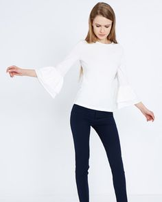 7ce15cf1290 Wardrobe Essentials  12 Not So Basic White Tops Colour Combinations