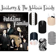 Addams Family Nails Essie Morticia Nail Polish Manicure Dark And