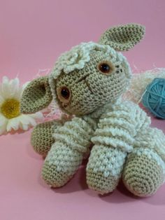 Moe: the amigurumi lamb by DawnToussaint | Crocheting Pattern - Looking for a crocheting pattern for your next project? Look no further than Moe: the amigurumi lamb from DawnToussaint! - via @Craftsy