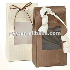 cajas de carton corrugado decoradas - Buscar con Google Corrugated Cardboard Boxes, Cardboard Gift Boxes, Gift Packaging, Packaging Design, Pvc Windows, Box Supplier, Party Favors, Diy And Crafts, Gift Wrapping