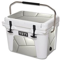 MightySkins Protective Vinyl Skin Decal for YETI Roadie 20 qt Cooler wrap cover sticker skins Volleyball -- You can get additional details at the image link.