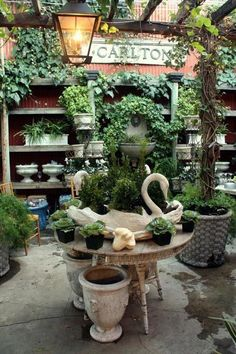I Adore Outsides: Magnolia Garden Store...via The Creeping Fig