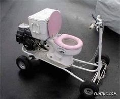 Toilet Scooter