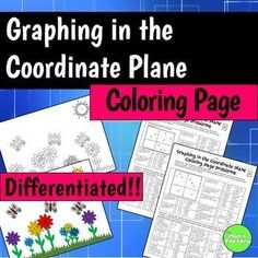 Practice graphing in a fun way! This is a 2-pack, differentiated coloring activity for middle school students to practice working with the coordinate plane.  Both levels include all four quadrants. This activity can easily be used to differentiate in the same classroom or between different levels of classes!To use this activity each student will need a coloring page and a problem page.