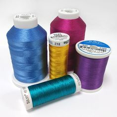 Sulky Rayon is our 40 weight decorative embroidery thread, suitable for machine or hand embroidery. Made from Enka Viscose, our Rayon thread has the same lustre as silk thread.