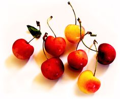 Cherries! So delicious and yet, sadly, short lived!  Definitely one of the best parts of summer.