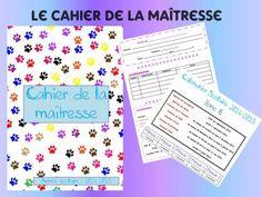 Cahier de la maîtresse