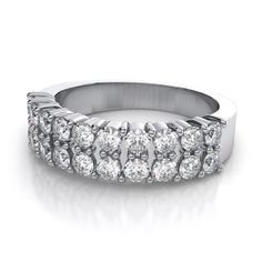Wide Band Wedding Rings for Her | Wedding Ideas | Pinterest | Ring ...
