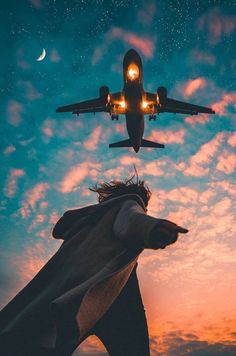Find images and videos about photography, sky and travel on We Heart It - the app to get lost in what you love. Airplane Photography, Tumblr Photography, Creative Photography, Travel Photography, Woman Photography, Sunset Photography, Pinterest Photography, Happy Photography, Photography Jobs