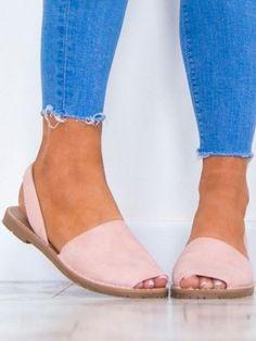 b3083f64588374 Solid Color Slip on Espadrilles Flip Flop Flats