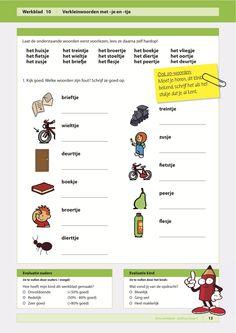 Spelling groep 4; oefen de 'je' en de 'tje' Learn Dutch, Dutch Language, Gifted Kids, Creative Teaching, Jaba, Grammar, Vocabulary, Homeschool, Classroom