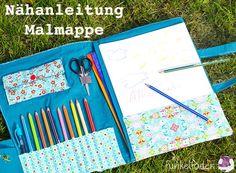 Freebook Malmappe für Kinder nähen