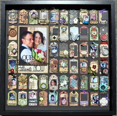 Jane Tregenza: Graphic online tutorial - page 7 Altered Boxes, Altered Art, Scrapbooking Layouts, Scrapbook Pages, Shabby, Cardmaking And Papercraft, Online Tutorials, Collage Frames, Star Wars Toys