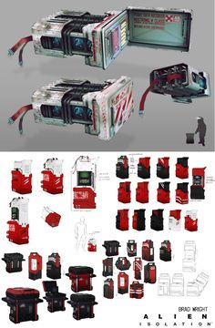 New Alien: Isolation Concept Art Released - AvPGalaxy