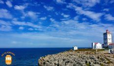 Things to do in Peniche – discover the beautiful Cape Carvoeiro.  #portugal #peniche #lighthouse #seascape
