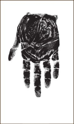 ☆ Tiger Hand Optical Illusion :: Artist Unknown ☆
