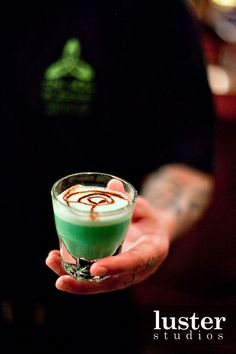 grasshopper shot drink
