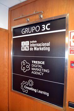 En nuestras oficinas podrás encontrar a IIMN, Instituto Internacional de Marketing, Creating Learning, desarrollo de campus online y la agencia de marketing online Tresce...¡3 en 1!