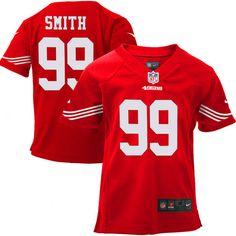 c3998a37da8d nfl jersey in china Infant San Francisco Aldon Smith Nike Scarlet Team  Color Game Jersey