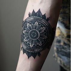 dreamcatcher style arm tattoo. i want
