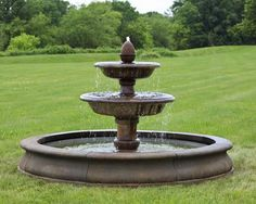 Beaufort Outdoor Water Fountain with Pool