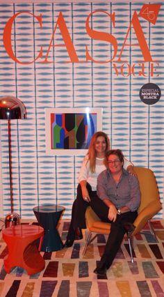 Capa da Revista Casa Vogue 2015 Casal Cristina Morethson e Angelo Coelho