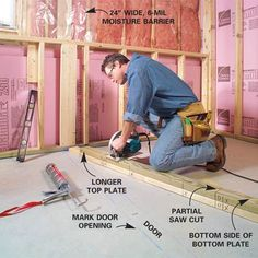 Affordable Basement Subfloor Options Mike Holmes Pinteres