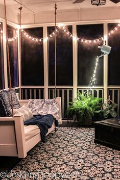 DIY Fairy Lights Pouring from a Watering Can - Unskinny Boppy
