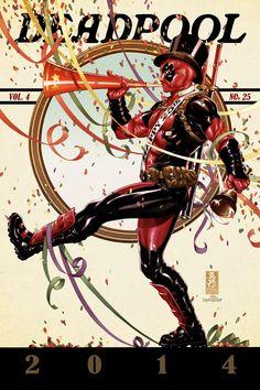 Deadpool #25 cover by diablo2003 on @DeviantArt