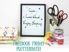Freebook Friday Plotterdatei