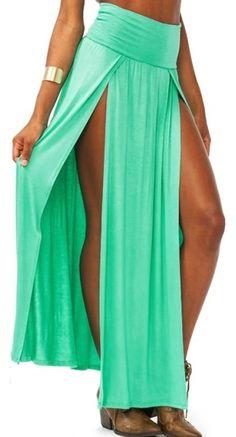 Princess Skirt - Aqua Green