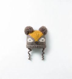 ZARA - KIDS - KNIT HAT WITH EARS $18