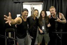 Steve(Iron Maiden) & Metallica Canada on July 13, 2017