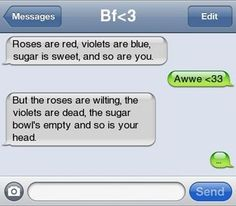 Haha, pretty mean, but still funny :)