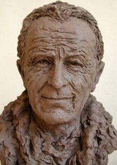 Paul-Emile VICTOR - Sculpture,  26x38 cm ©2000 door KAINOU -  Sculptuur