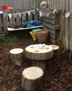 Community garden kid entrance: Make a simple outdoor play house from pallets - would be great with a mud pie kitchen inside! Description from pinterest.com. I searched for this on bing.com/images