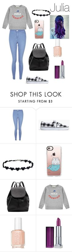 """""""Wattpad Julia"""" by emmyla-erana on Polyvore featuring mode, New Look, Madewell, Casetify, Witchery, Être Cécile, Essie et Maybelline"""