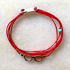 Wax thread and silver 925 bracelet