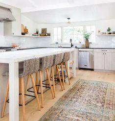 Boho Kitchen, Home Decor Kitchen, Interior Design Kitchen, New Kitchen, Neutral Kitchen, Kitchen Ideas, Kitchen Designs, Kitchen Trends, Kitchen Decorations