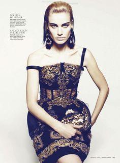 Delfine Bafort | Danilo Giuliani | Marie Claire US August 2012 | A SeriousWoman