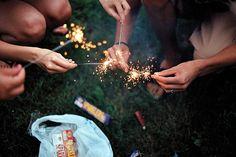 sparklers rock.
