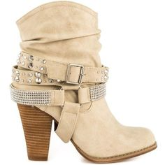 Dolce by Mojo Moxy Bundles Women's Ankle Boots, Natural Beige Ankle Boots, Short Heel Boots, Studded Ankle Boots, Ankle Booties, Leather Boots, Bootie Boots, Rain Boots, Heeled Boots, Boho Shoes