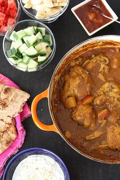 Mum's Chicken & Potato Curry Recipe for Family Food Flashback by CookinCanuck Chicken And Potato Curry, Chicken Potatoes, Indian Food Recipes, Asian Recipes, Healthy Recipes, Savoury Recipes, Curry Recipes, Family Meals, Lunches