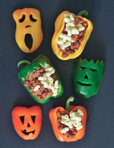 Chili Mac Pepper Jacks @spabettie #vegan #glutenfree #Halloween