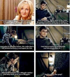 J. K. Rowling is truly brilliant!