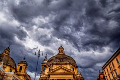 cloudy day in #rome