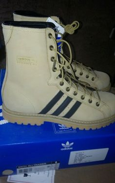 Adidas Muhammed Ali Trainer boots new in box camel size 11 #adidas #Trainers