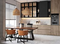 Fantastic modern kitchen room are available on our web pages. Read more and you wont be sorry you did. Loft Kitchen, Kitchen Room Design, Kitchen Dinning, Kitchen Sets, Modern Kitchen Design, Living Room Kitchen, Home Decor Kitchen, Interior Design Kitchen, Home Kitchens